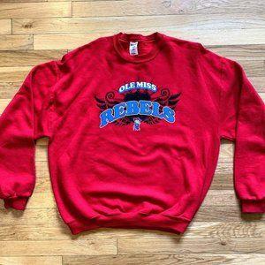 Vintage Ole Miss Rebels Crewneck Sweatshirt